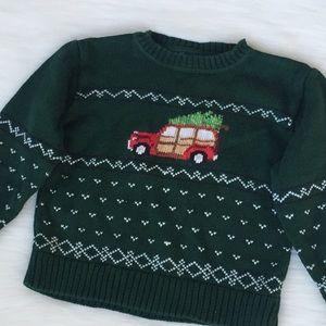 Hartstrings Boys Christmas Holiday Sweater
